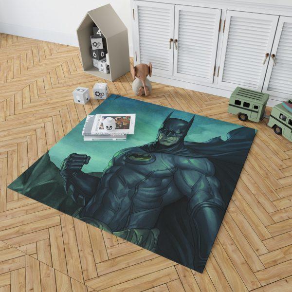 Batman Movie DC Comics Gothem City Bedroom Living Room Floor Carpet Rug 2