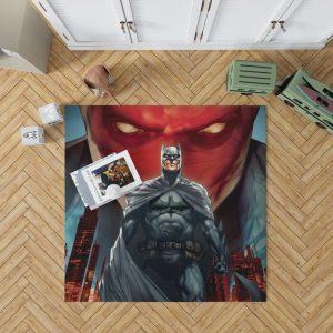 Batman Under the Red Hood Movie Bruce Wayne DC Comics Jason Todd Bedroom Living Room Floor Carpet Rug 1