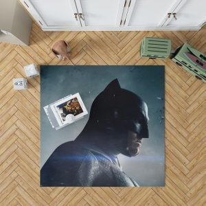 Batman v Superman Dawn of Justice Movie Bedroom Living Room Floor Carpet Rug 1