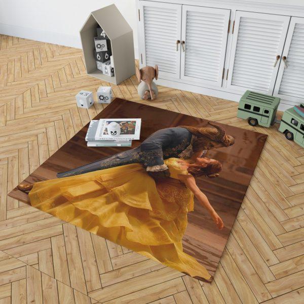 Beauty And The Beast Movie Emma Watson Bedroom Living Room Floor Carpet Rug 2