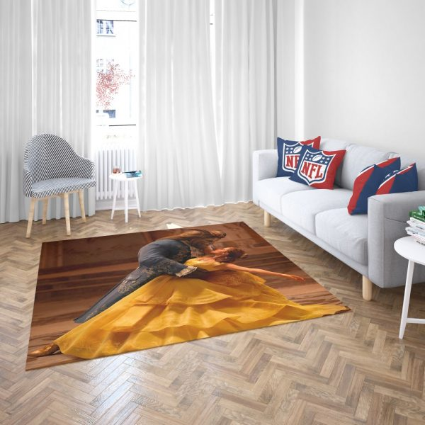 Beauty And The Beast Movie Emma Watson Bedroom Living Room Floor Carpet Rug 3