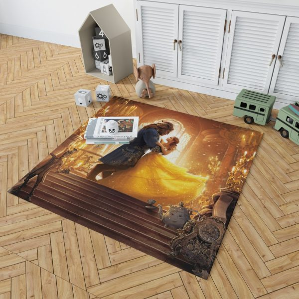 Beauty and the Beast Movie Bedroom Living Room Floor Carpet Rug 2