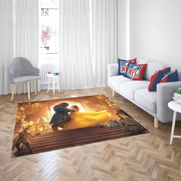 Beauty and the Beast Movie Bedroom Living Room Floor Carpet Rug 3