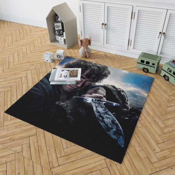 Bilbo Baggins in Lord Of The Rings Movie Bedroom Living Room Floor Carpet Rug 2