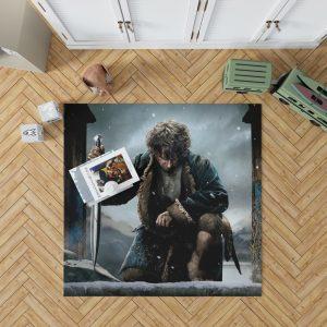 Bilbo Baggins in The Hobbit Battle of the Five Armies Movie Bedroom Living Room Floor Carpet Rug 1