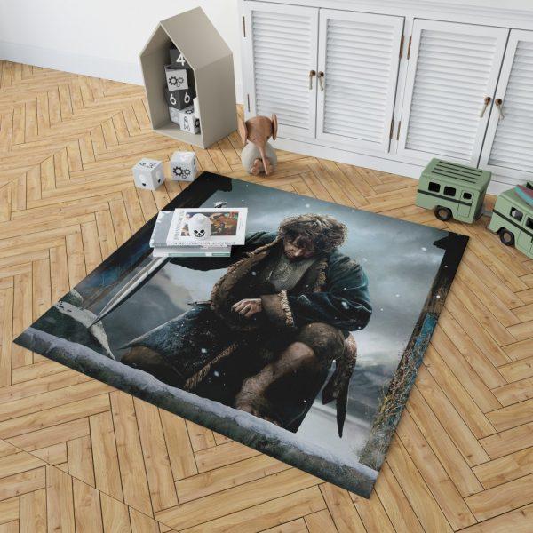 Bilbo Baggins in The Hobbit Battle of the Five Armies Movie Bedroom Living Room Floor Carpet Rug 2