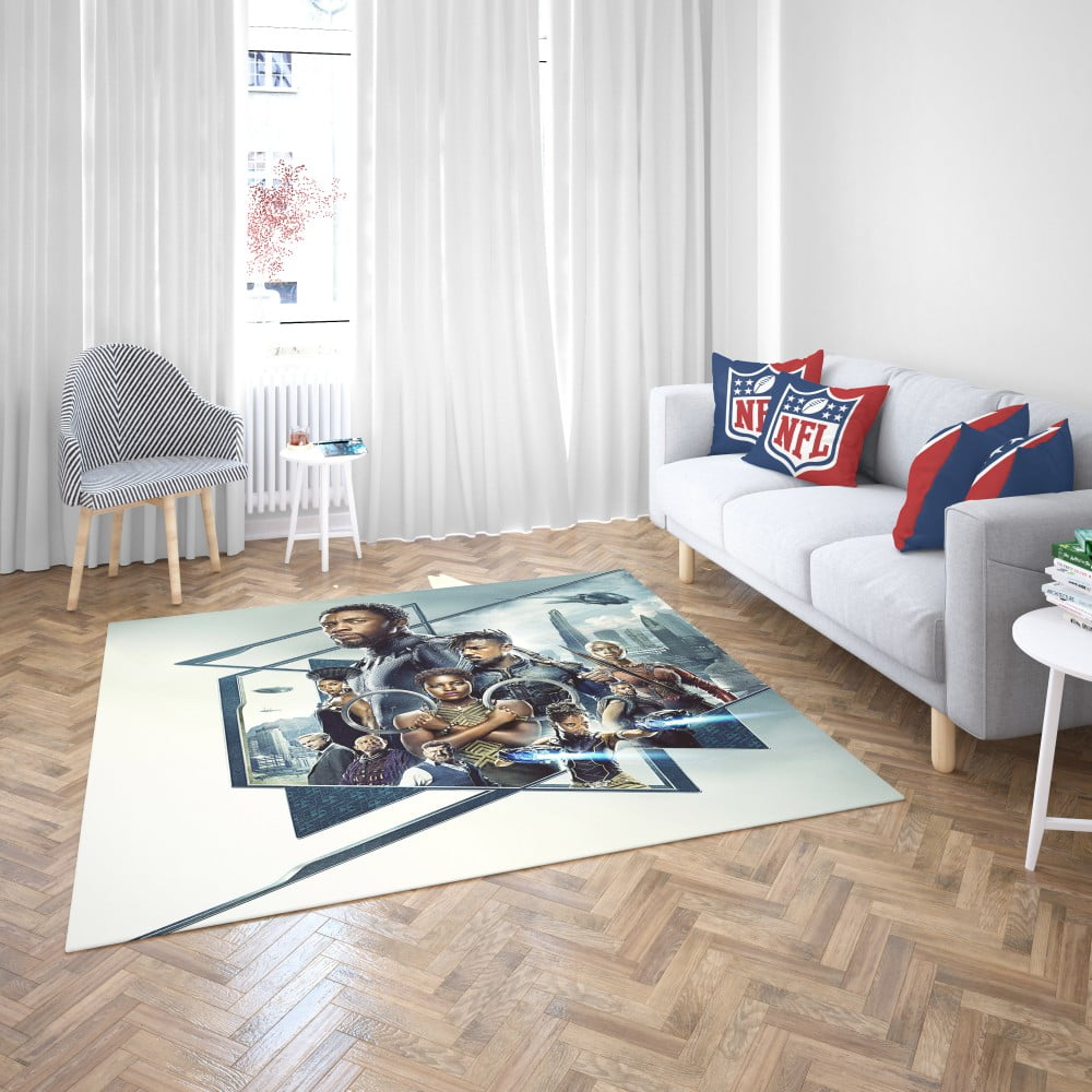 Black panther bedroom bedroom living room floor carpet rug - Black living room rug ...