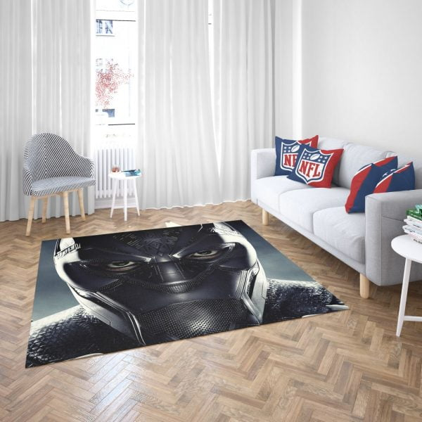 Black Panther Marvel Comics Bedroom Living Room Floor Carpet Rug 3