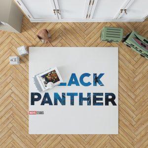 Black Panther Movie Bedroom Living Room Floor Carpet Rug 1