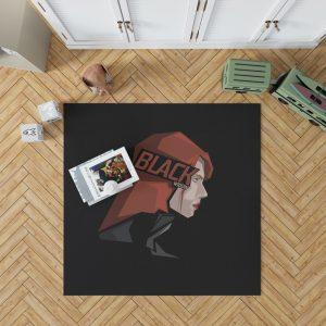 Black Widow Movie Bedroom Living Room Floor Carpet Rug 1