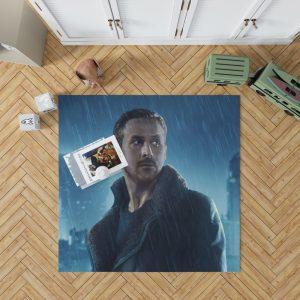 Blade Runner 2049 Movie Officer K Ryan Gosling Bedroom Living Room Floor Carpet Rug 1