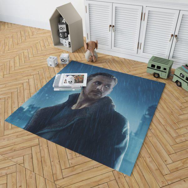 Blade Runner 2049 Movie Officer K Ryan Gosling Bedroom Living Room Floor Carpet Rug 2