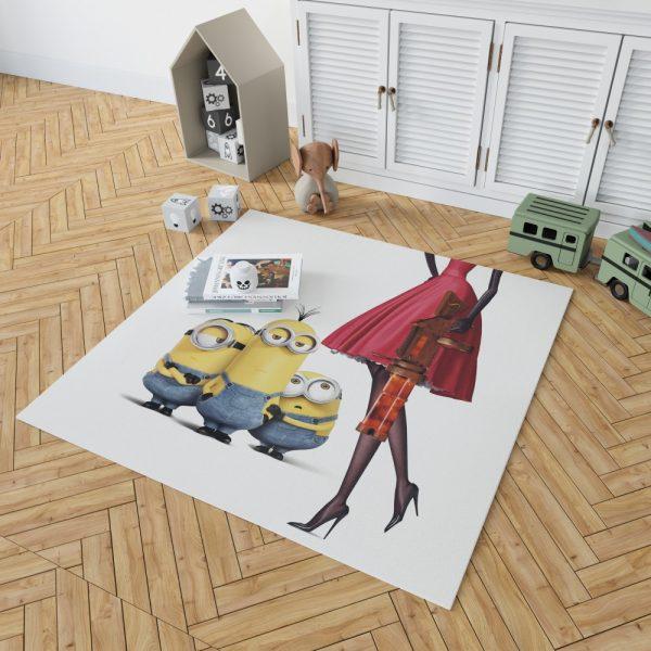 Bob Stuart Kevin Minions MovieBedroom Living Room Floor Carpet Rug 2