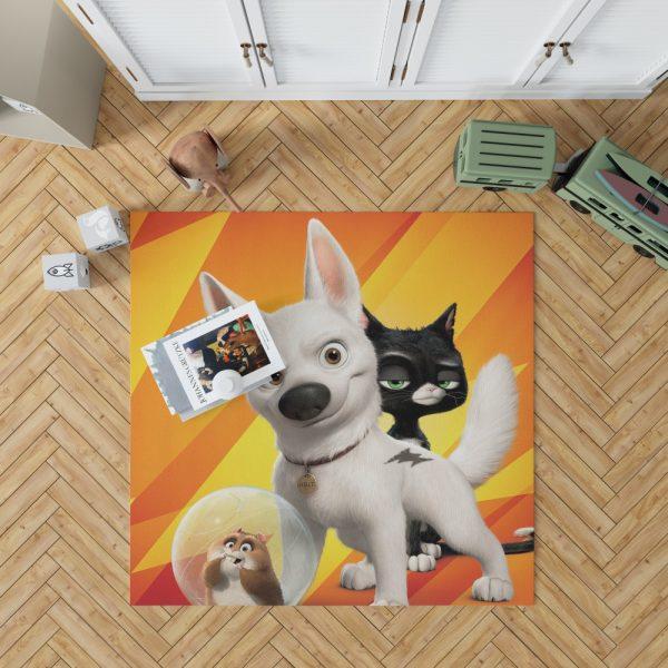 Bolt Movie Kids Bedroom Living Room Floor Carpet Rug 1