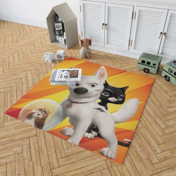 Bolt Movie Kids Bedroom Living Room Floor Carpet Rug 2