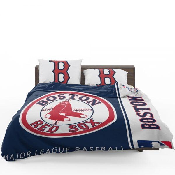 Boston Red Sox MLB Baseball American League Bedding Set 1