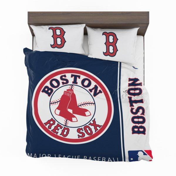 Boston Red Sox MLB Baseball American League Bedding Set 2