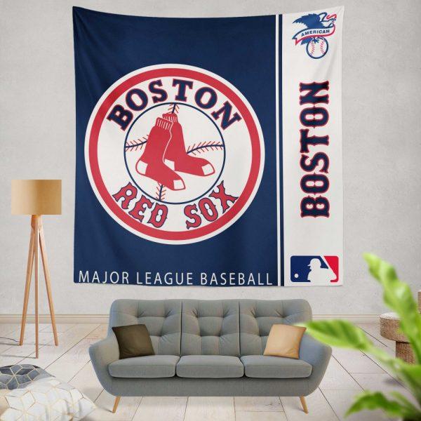 Boston Red Sox MLB Baseball American League Wall Hanging Tapestry