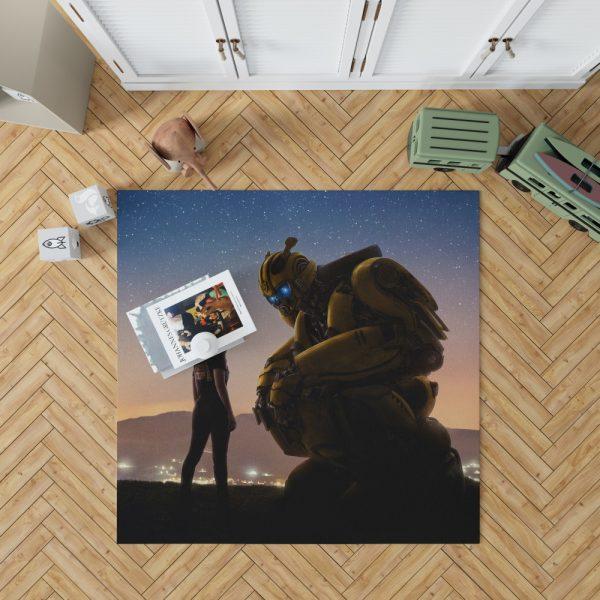Bumblebee Movie Bedroom Living Room Floor Carpet Rug 1