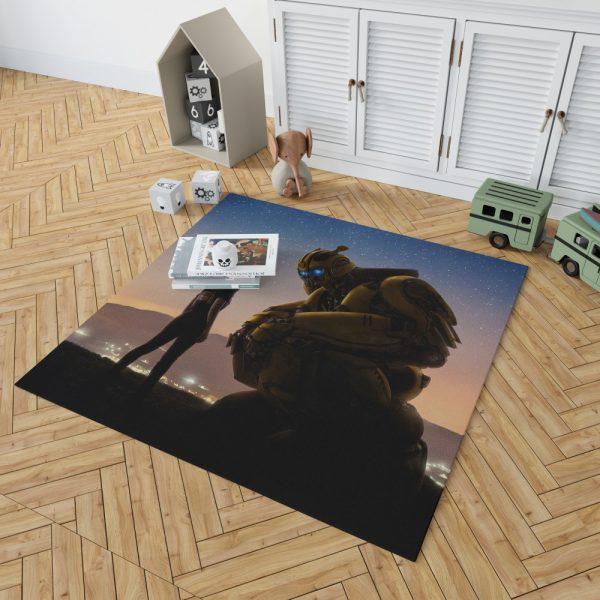 Bumblebee Movie Bedroom Living Room Floor Carpet Rug 2