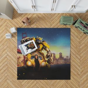Bumblebee Movie Transformers Hailee Steinfeld Bedroom Living Room Floor Carpet Rug 1