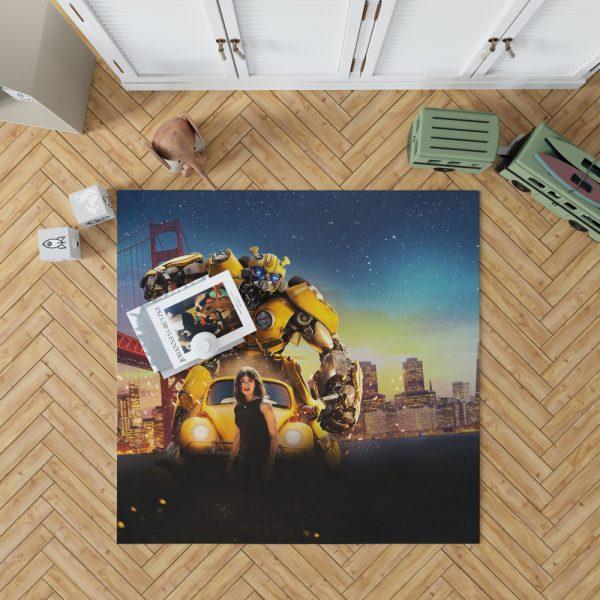 Bumblebee Movie Transformers Hailee Steinfeld Bedroom Living Room Floor Carpet Rug 1