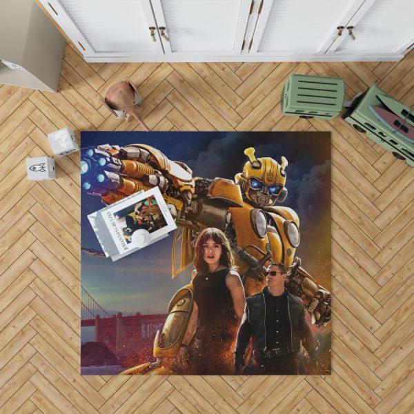 Bumblebee Movie Transformers Hailee Steinfeld John Cena Bedroom Living Room Floor Carpet Rug 1