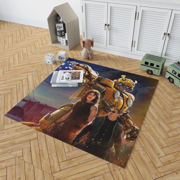 Bumblebee Movie Transformers Hailee Steinfeld John Cena Bedroom Living Room Floor Carpet Rug 2