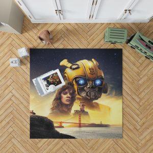 Bumblebee Movie Transformers Hailee Steinfeld Sci-Fi Thriller Bedroom Living Room Floor Carpet Rug 1