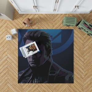 Captain America Avengers Endgame Movie Marvel Comics Bedroom Living Room Floor Carpet Rug 1