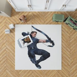 Captain America Civil War Movie Hawkeye Jeremy Renner Bedroom Living Room Floor Carpet Rug 1