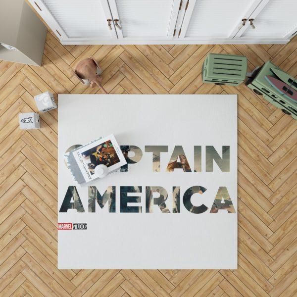 Captain America The First Avenger Movie Bedroom Living Room Floor Carpet Rug 1