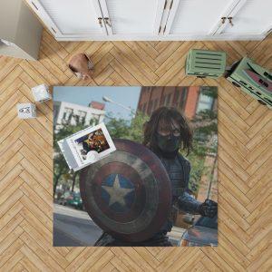 Captain America The Winter Soldier Movie Bedroom Living Room Floor Carpet Rug 1
