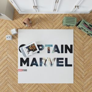 Captain Marvel Movie Bedroom Living Room Floor Carpet Rug 1