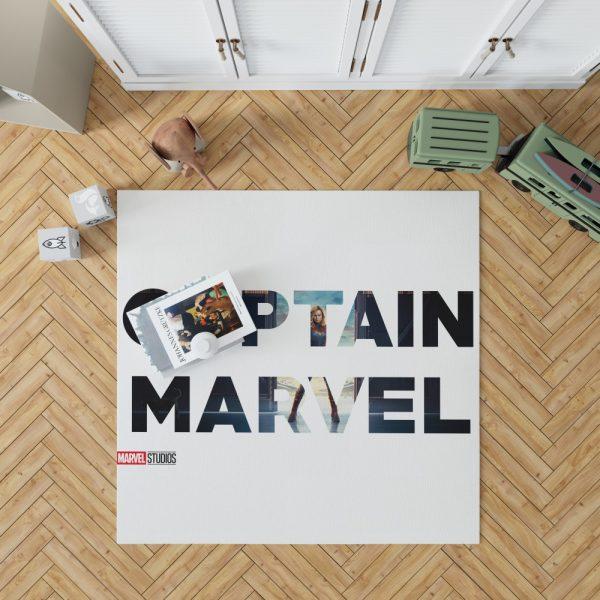 Captain Marvel Movie Bedroom Living Room Floor Carpet Rug 1
