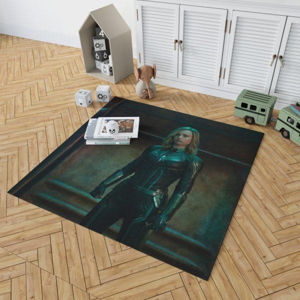 Captain Marvel Movie Brie Larson Bedroom Living Room Floor Carpet Rug 2