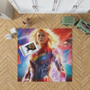 Captain Marvel Movie Brie Larson MCU Bedroom Living Room Floor Carpet Rug 1