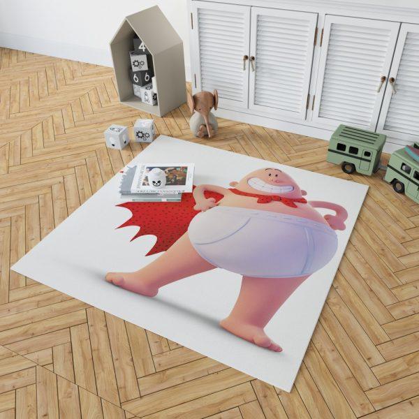 Captain Underpants Dream works Movie Bedroom Living Room Floor Carpet Rug 2