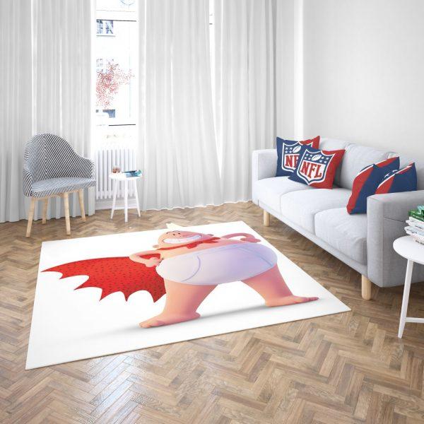 Captain Underpants Dream works Movie Bedroom Living Room Floor Carpet Rug 3