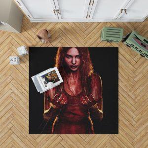Carrie White in Carrie Movie Chloe Grace Moretz Bedroom Living Room Floor Carpet Rug 1