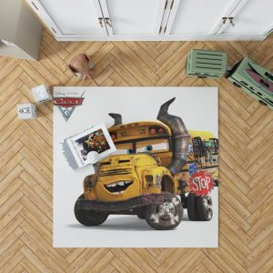 Cars 3 Movie Bedroom Living Room Floor Carpet Rug 1