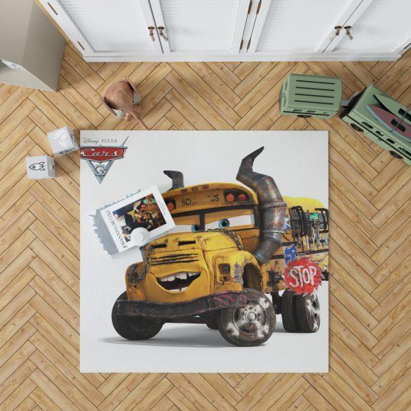 Cars 3 Movie Bedroom Living Room Floor Carpet Rug 1
