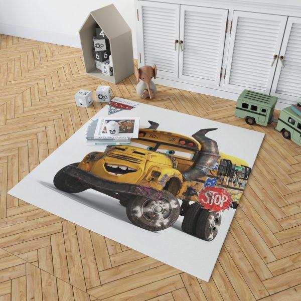 Cars 3 Movie Bedroom Living Room Floor Carpet Rug 2
