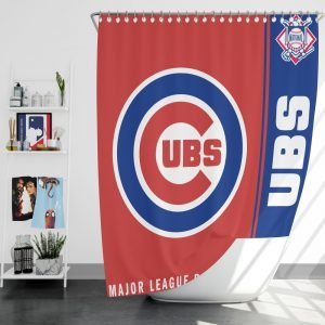 Chicago Cubs Mlb Baseball National League Window Curtain Ebeddingsets
