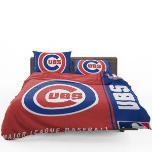Chicago Cubs MLB Baseball National League Bedding Set 1
