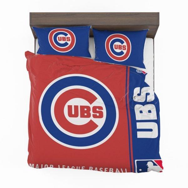 Chicago Cubs MLB Baseball National League Bedding Set 2