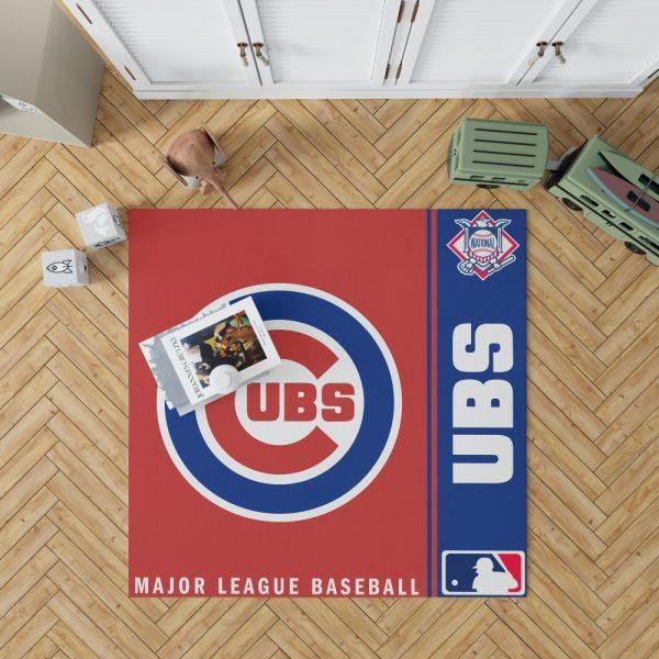 Chicago Cubs MLB Baseball National League Floor Carpet Rug Mat 1