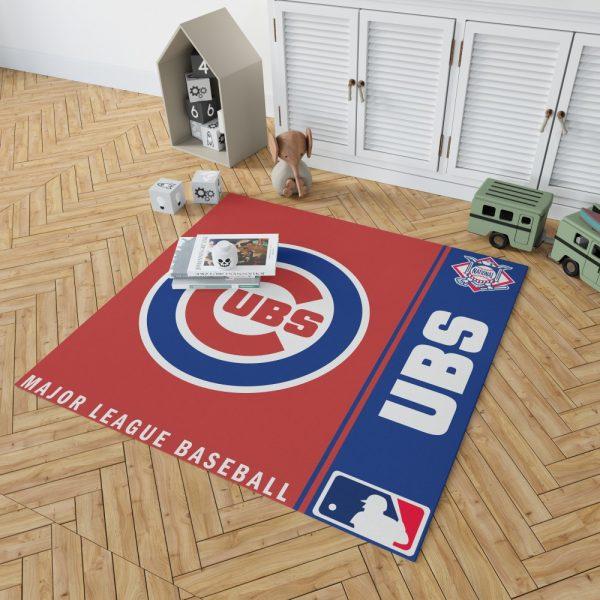 Chicago Cubs MLB Baseball National League Floor Carpet Rug Mat 2
