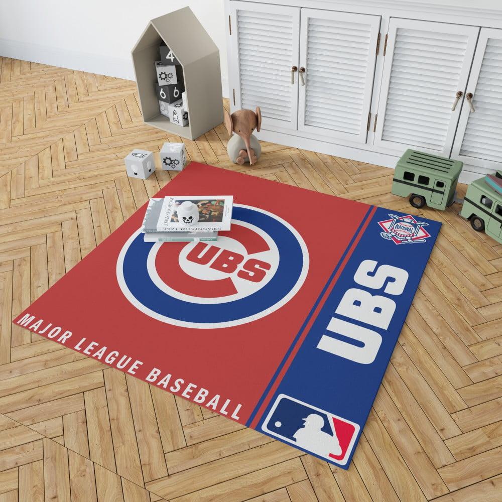 Chicago Cubs Mlb Baseball National League Floor Carpet Rug