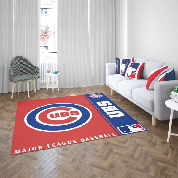 Chicago Cubs MLB Baseball National League Floor Carpet Rug Mat 3